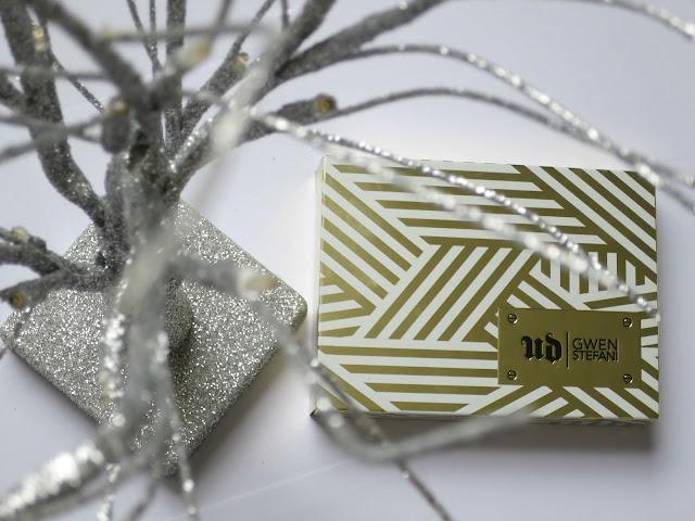 Urban Decay Gwen Stefani Eye Shadow Palette Neutral Favourite Swatch Box