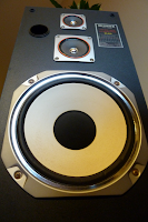 Fisher+DS-826+Speaker+Vintage woofer