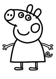 Melhores desenhos Peppa Pig para pintar