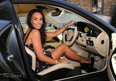 Tamara Ecclestone, Ferrari, Ferrari 599, Tamara, Ecclestone, celebrity cars, cars, car gallery, Model, Actress