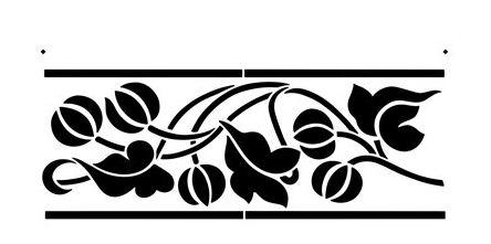 Plantillas para pintar flores excellent imagenes de - Moldes para pintar paredes ...