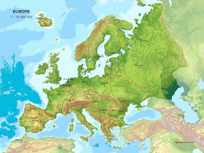 Europe Landkarte Bilder