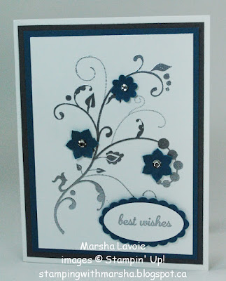 flowering flourishes, stampin up, express yourself