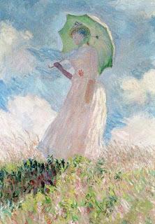 Essai de figure en plein air, obra de Claude Monet pintada en 1886