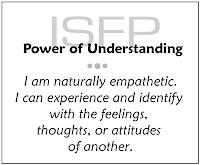 ISFP | understanding