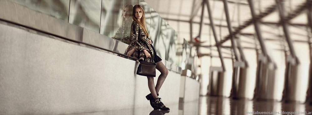 Prüne otoño invierno 2014. Moda otoño invierno 2014 zapatos, botas y carteras.