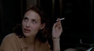 Claire Forlani Smoking