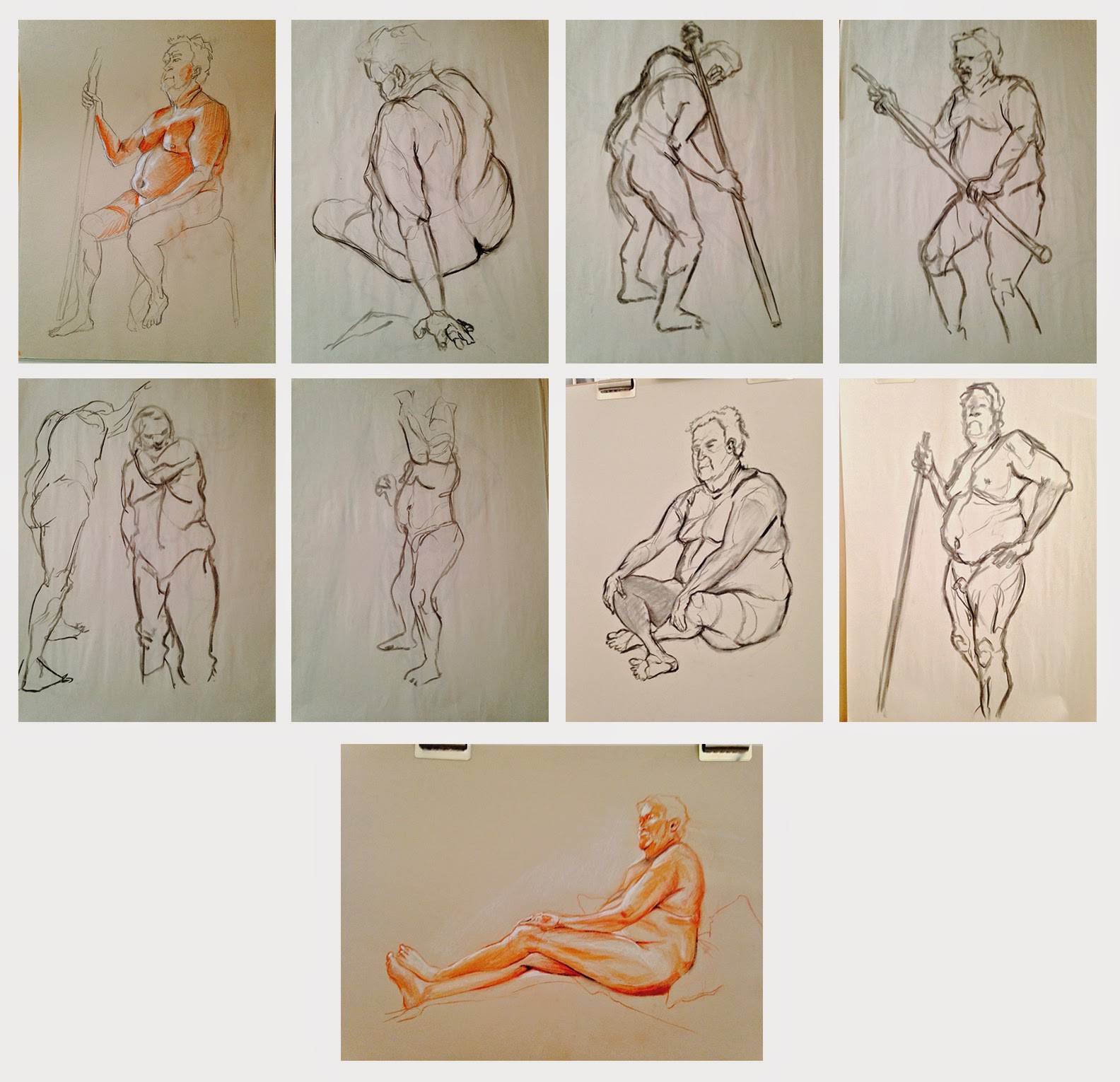 Lessons in Awesomituvity: Some Figure Drawing Plus Post-Animation ...