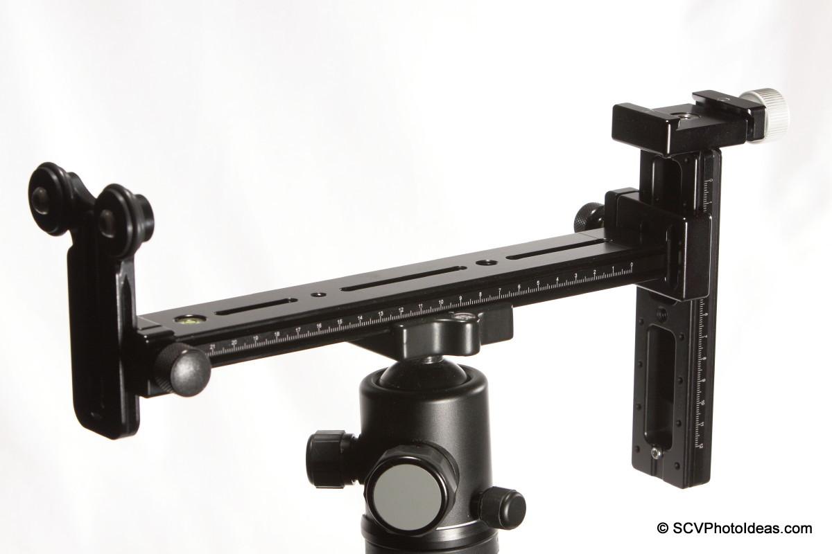 LLSB w/ camera support Hejnar PHOTO G20-10 Rail+F60+F61 clamps+G15-60 rail+LSB-R2 overview