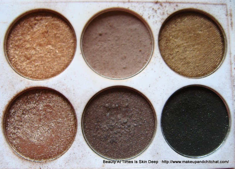 MUA Undress Me Too Palette Shades