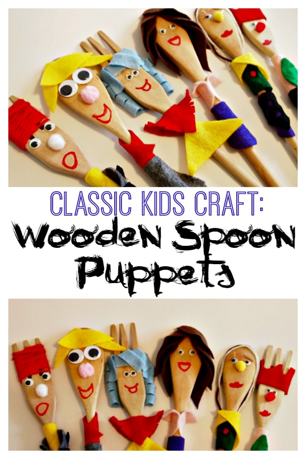 Great classic craft to make with the kids! Use your imaginations to come up with your own characters, stories, and plays! via @mvemother