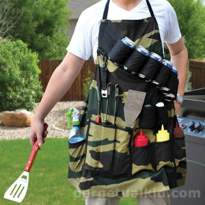 Gift Ideas For Everyone On Your List - Camouflage BBQ Grill Apron (20) 3