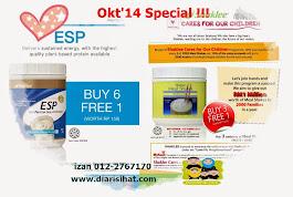 Shaklee Offer Oktober 2014 : Shaklee ESP & Meal Shakes