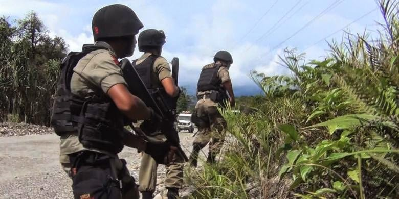Polisi tangkap 10 penyerang aparat keamanan di Papua