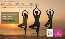 Formaçao em Instrutor de Shakti Yoga Dance, intensiva 23 a 31 de Agosto (Lisboa)!