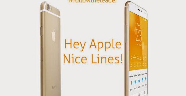 Các hãng điện thoại Trung Quốc thi nhau đá đểu Apple