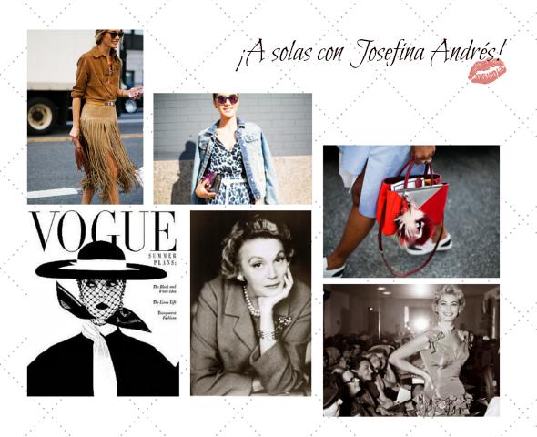 semana de la moda street style fotografias de josefina andres para vogue