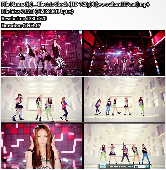 Download MV f(x) (에프엑스) - Electric Shock (HD 720p)