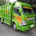 Foto gambar modifikasi mobil truck canter jawa 125 hd ala transformer keren modern