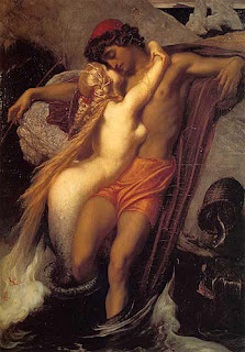 Mujer desnuda en esclavitud