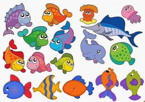 мир для дошкольников картинки подводный