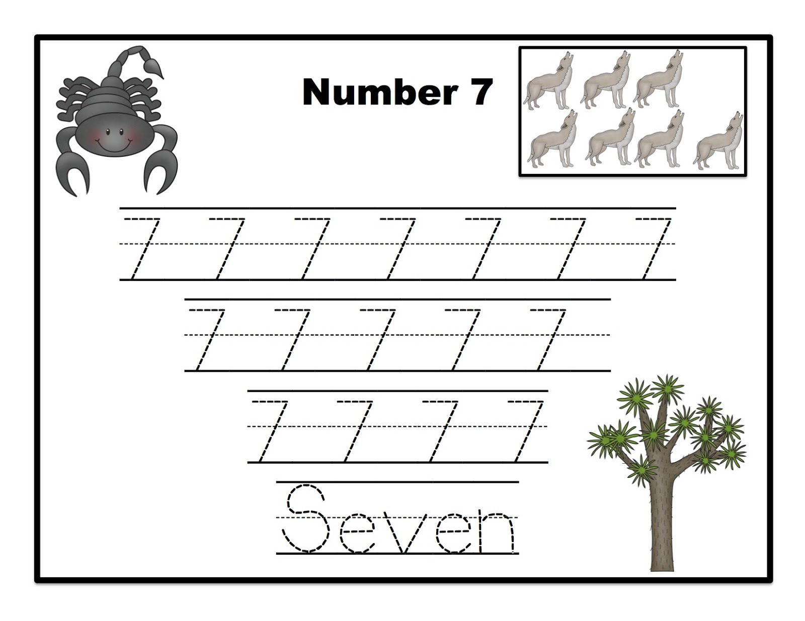 desert animals printable preschool printables. Black Bedroom Furniture Sets. Home Design Ideas