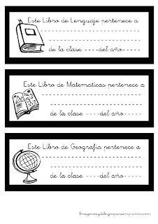 Etiquetas para libros