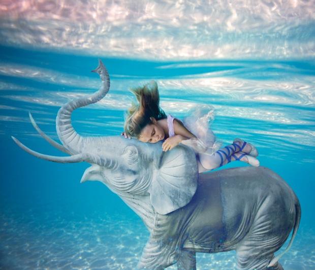Подводный мир Елены Калис: Underwater Fairytale (40 фото + видео)