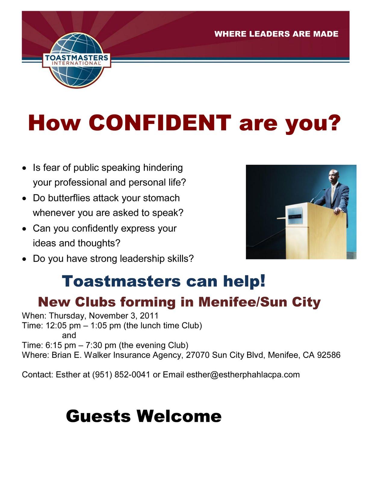 toastmasters arrives in menifee menifee 24 7