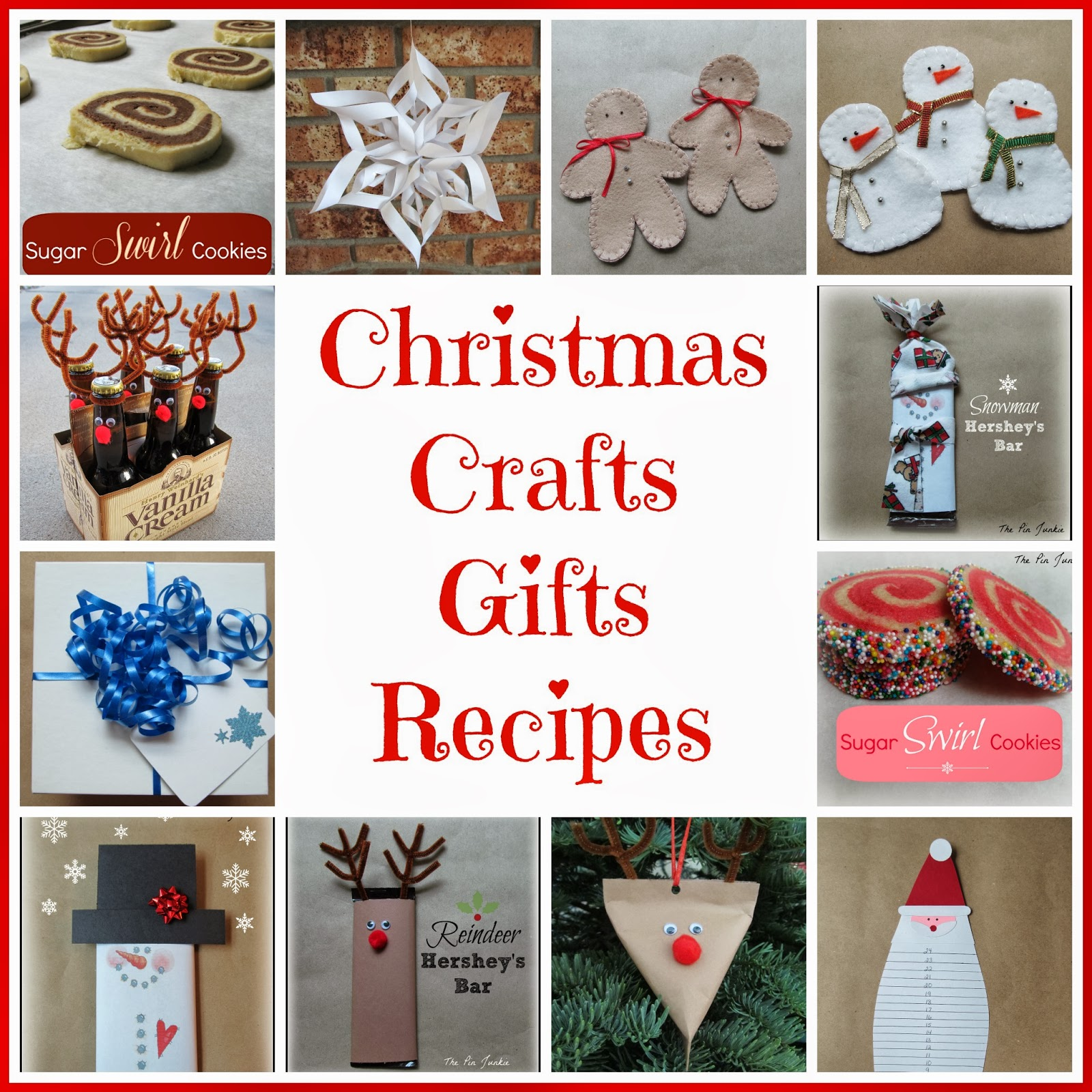 The Pin Junkie: Christmas Crafts, Gifts, & Recipes