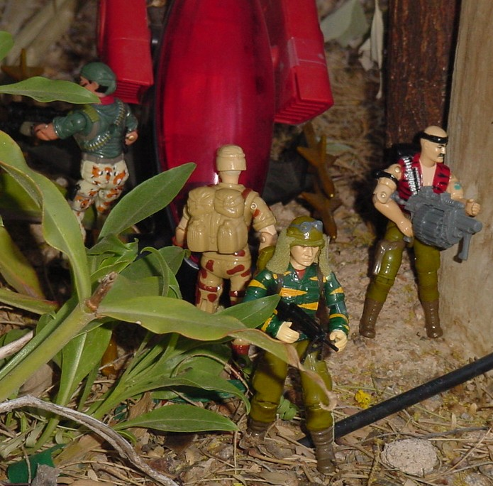 1988 Tiger Force Dusty, 1993 Duke, 2004 Desert Patrol Tunnel Rate, Gung Ho