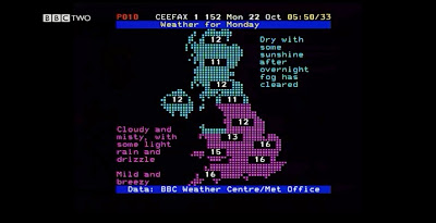 BBC Ceefax Weather 401
