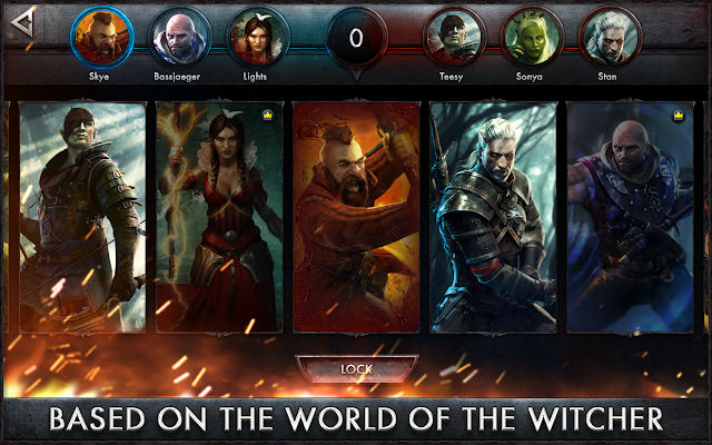 The Witcher Battle Arena  phiên bản Android