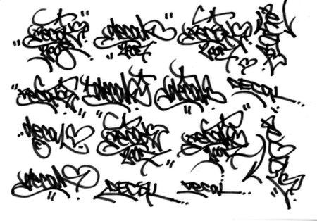 Tags Graffiti Alphabet ABC