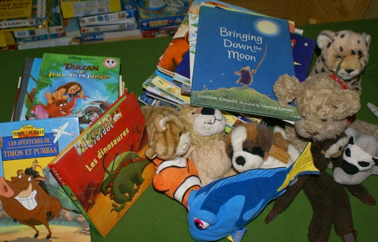 New (ish) books and toys for the gite