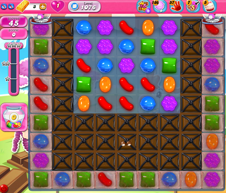 Candy Crush Saga 1076