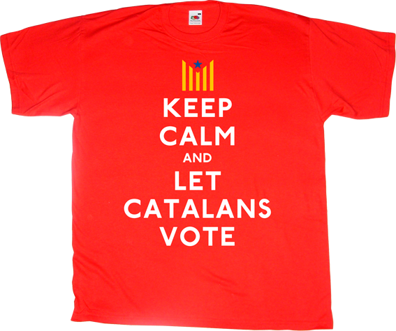 catalonia independence freedom referendum 9n useless spanish politics t-shirt ephemeral-t-shirts