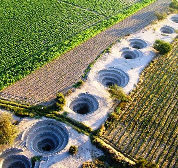 Mysterious Subterranean Water Channels Of Nazca Peru