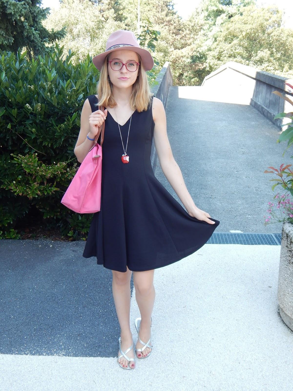 Petite robe noire la halle