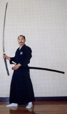 The nodachi is a very large sword