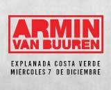 ARMIN VAN BUUREN. EXPLANADA COSTA VERDE. 7 DE DICIEMBRE 2016