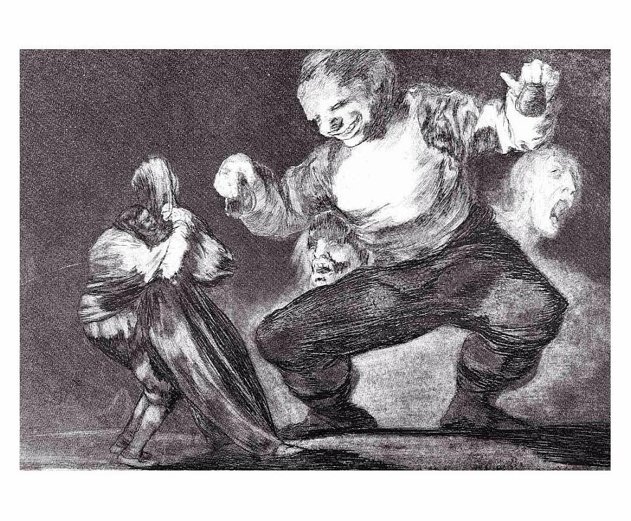 Goya. Bobalicon.