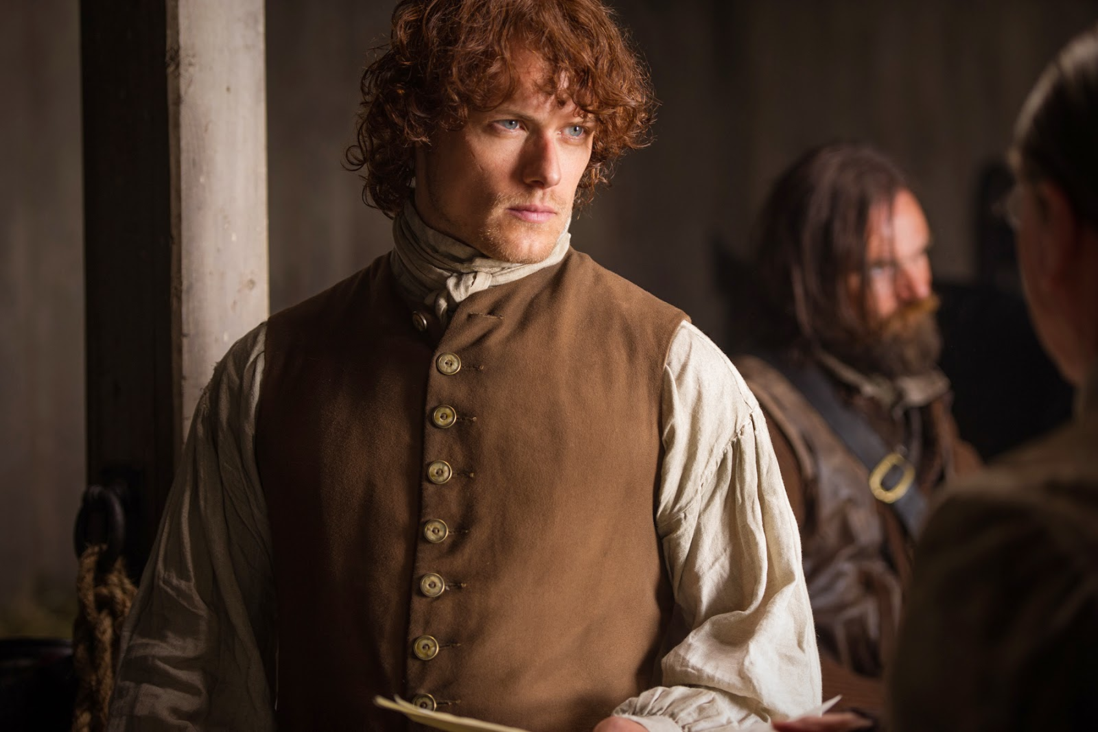 Outlander - Sam Heughan Discusses The Wedding - Interviews with TVLine & The Hollywood Reporter