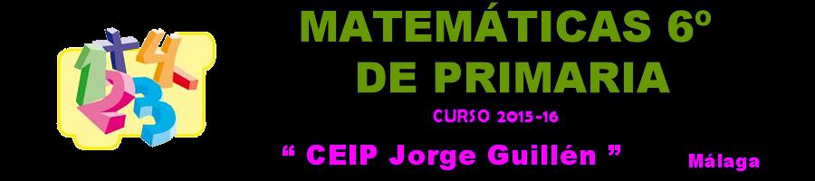Matemáticas 6º