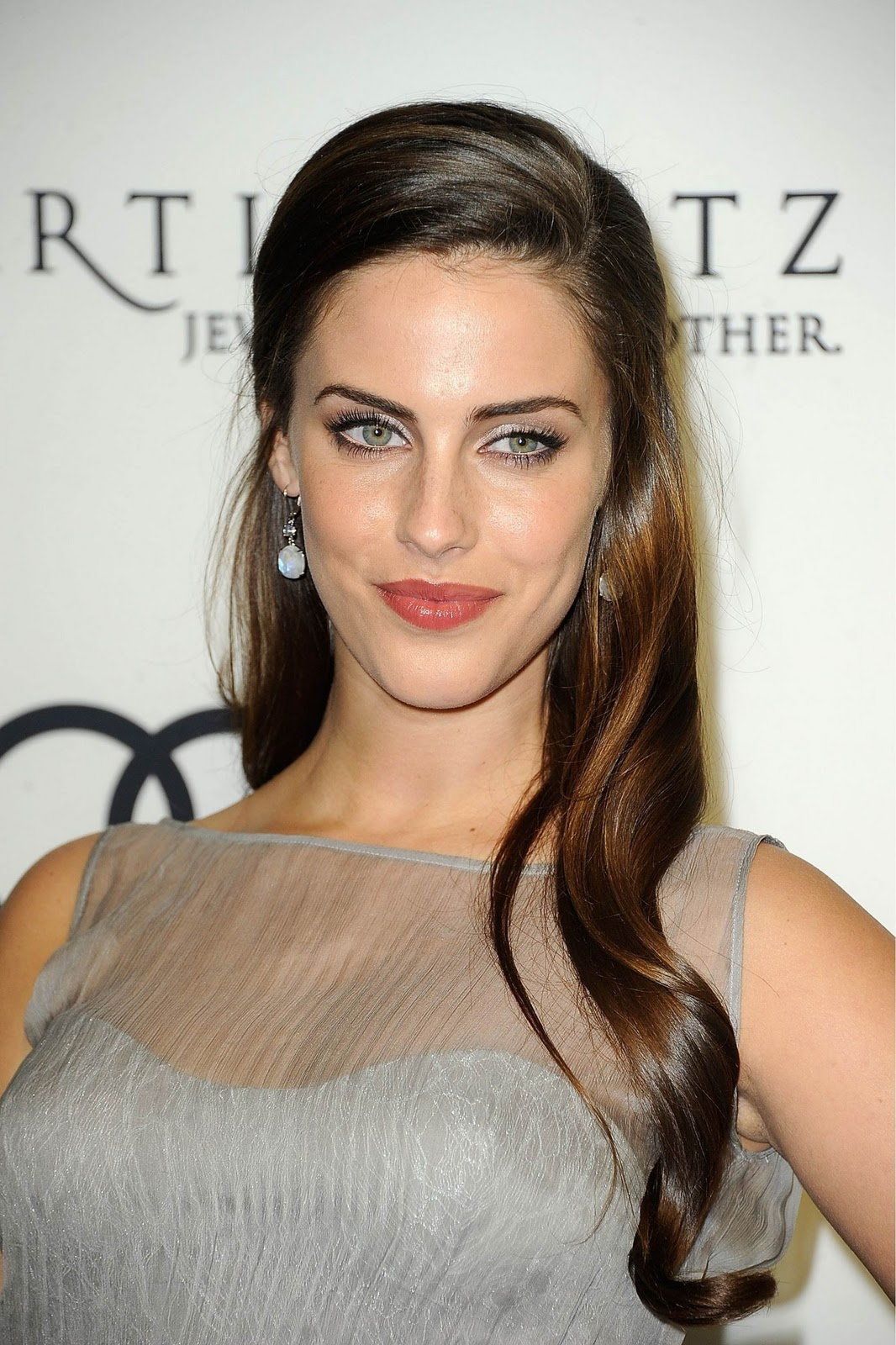 Jessica Lowndes 2012 Golden Globe Awards Party Presents By Audi In La
