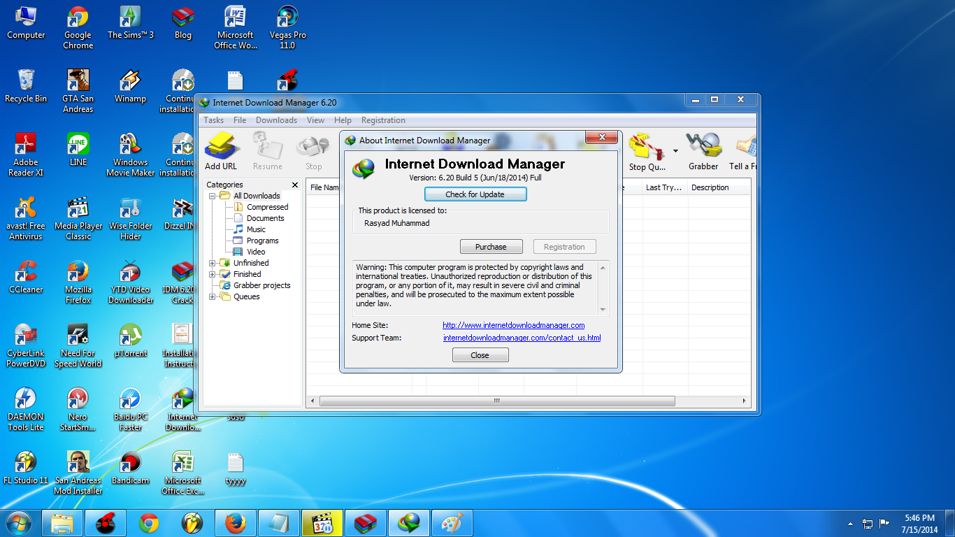Cara Download Internet Download Manager (IDM) Full Version (Update)