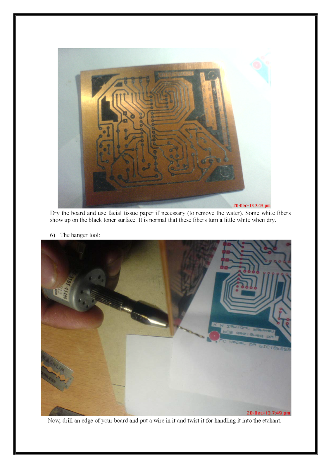 Making Pcb At Home Printed Circuit Board Print Your Custom Boards Layout On A Copper And Want To Make Then My This Attached Hand Note Will Help You Dream Come True