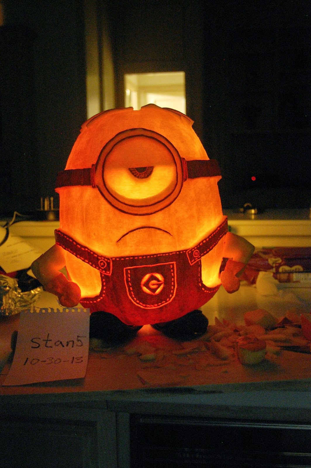 Best Minion Pumpkin