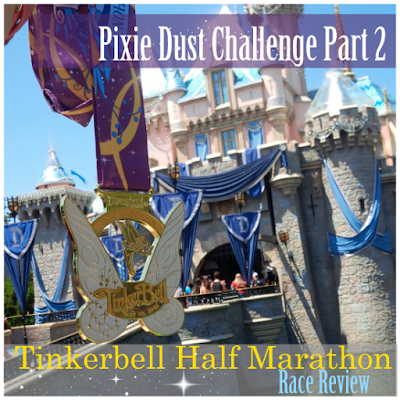 disney tinkerbell half marathon california