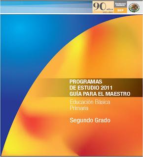 PROGRAMA SEGUNDO GRADO 2011